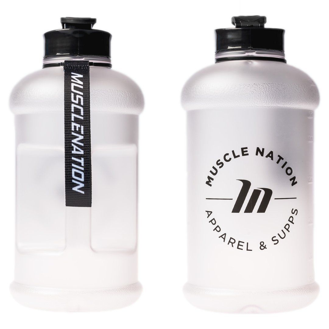 Muscle Nation 1.3L Smart Jug - Frosted Clear