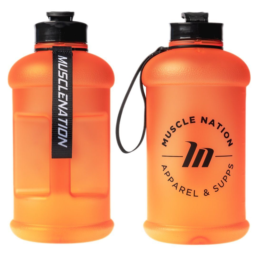 Muscle Nation 1.3L Smart Jug - Frosted Orange