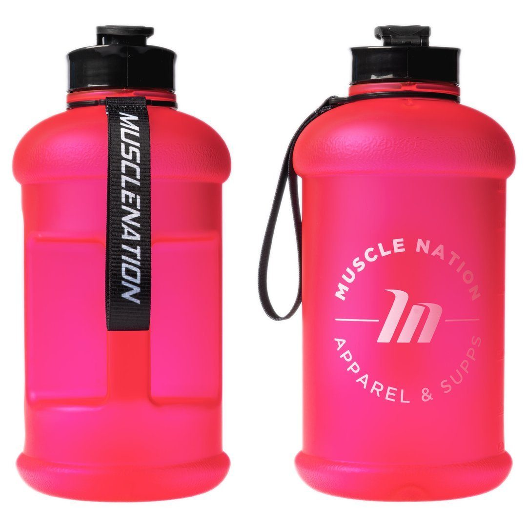 Muscle Nation 1.3L Smart Jug - Frosted Pink