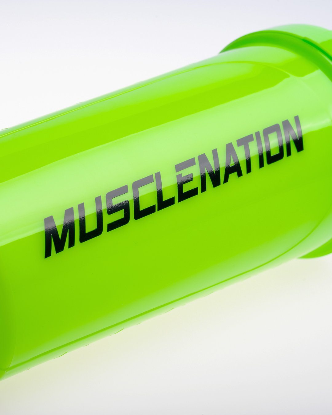 Muscle Nation 750ml Shaker - Fluro Green/Black