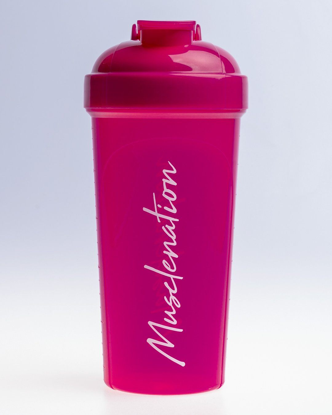 Muscle Nation 750ml Shaker - Magenta/White