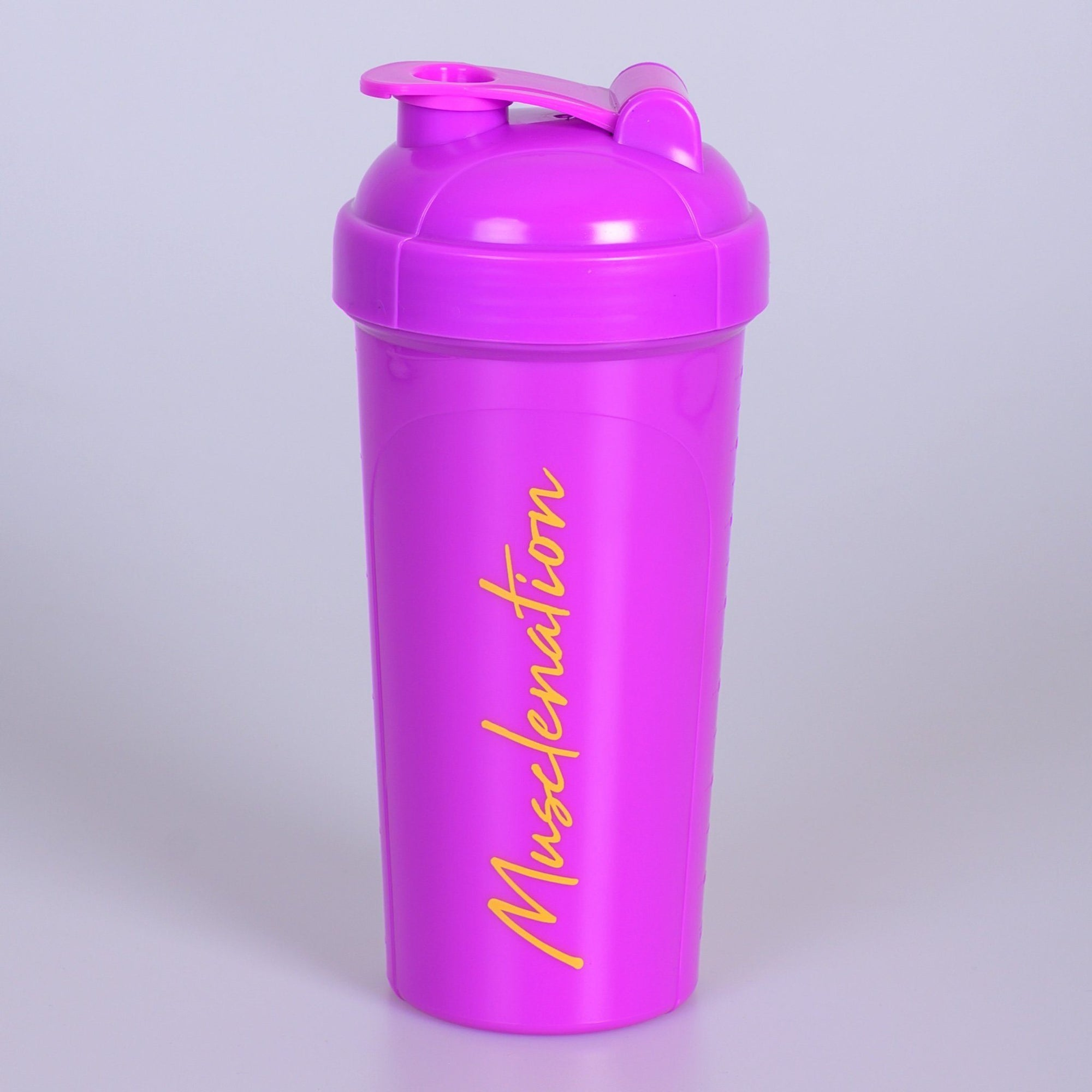 Muscle Nation 750ml Shaker - Purple/Yellow