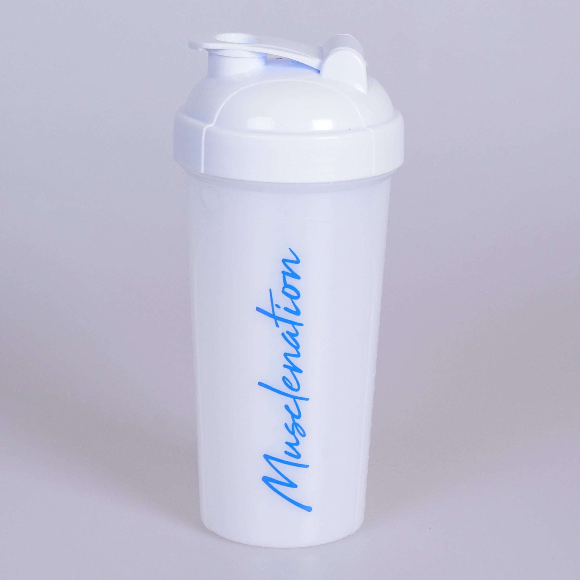 Muscle Nation 750ml Shaker - White/Blue