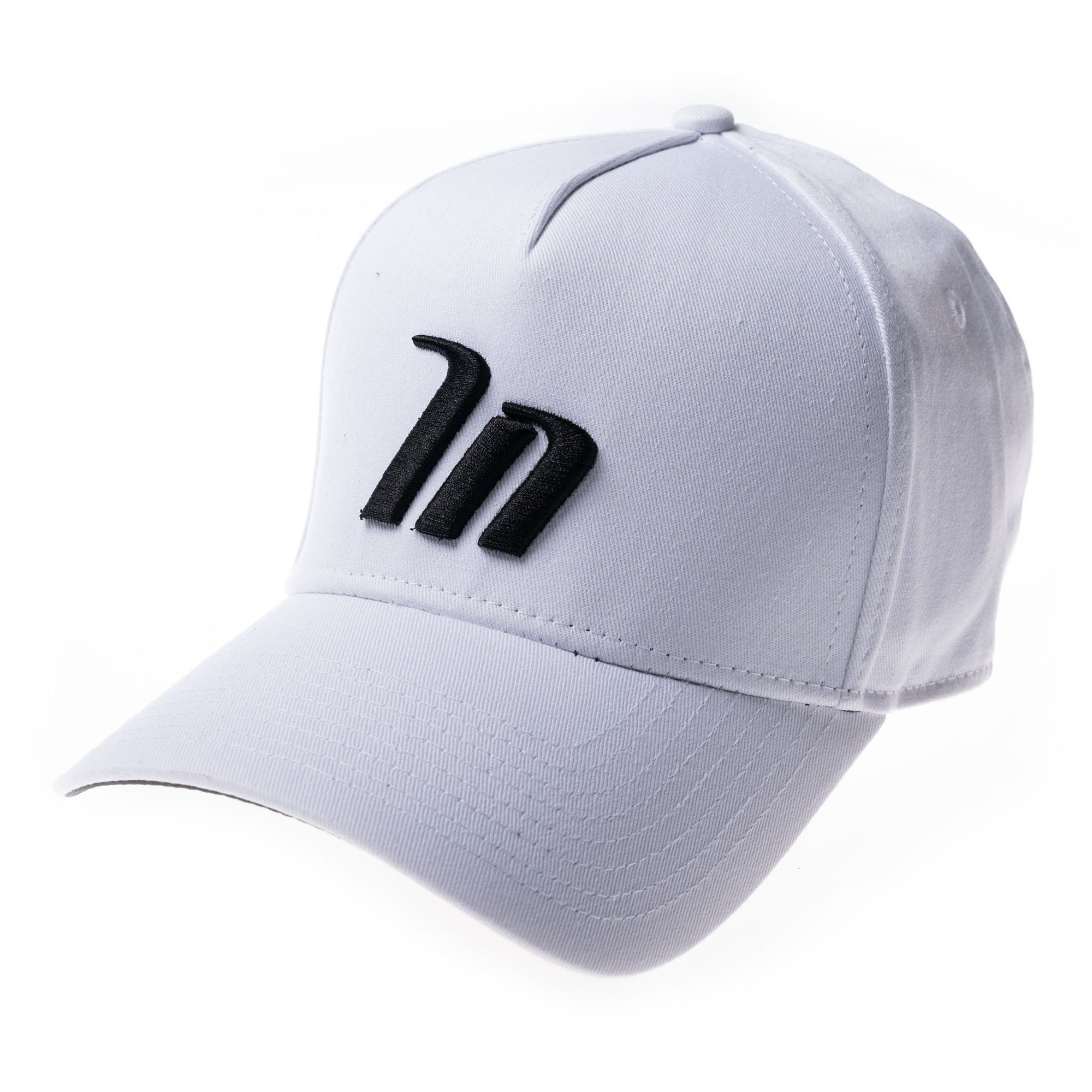 Muscle Nation A-Frame Hat - White