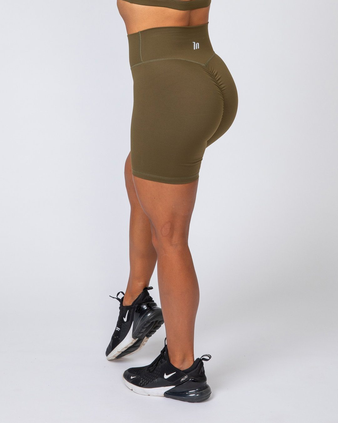 Muscle Nation Bike Shorts - Khaki