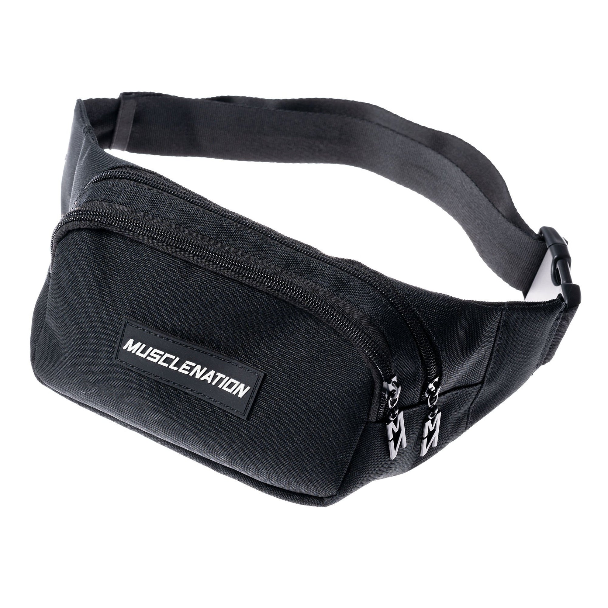 Muscle Nation Bum Bag - Black