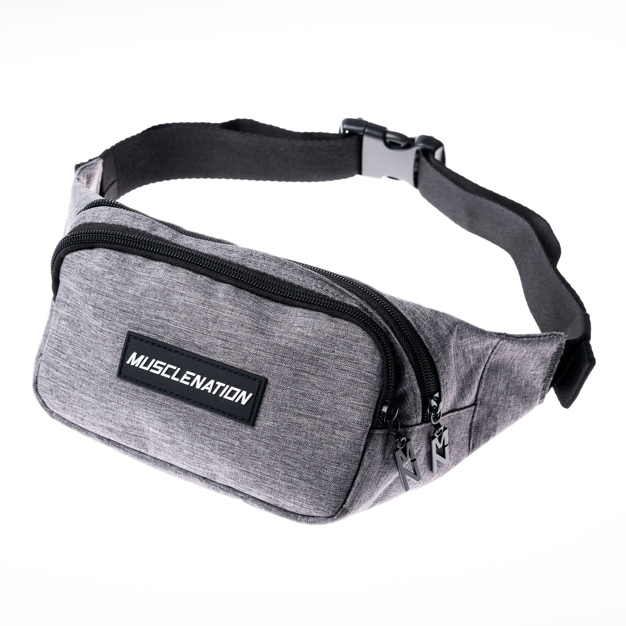 Muscle Nation Bum Bag - Grey