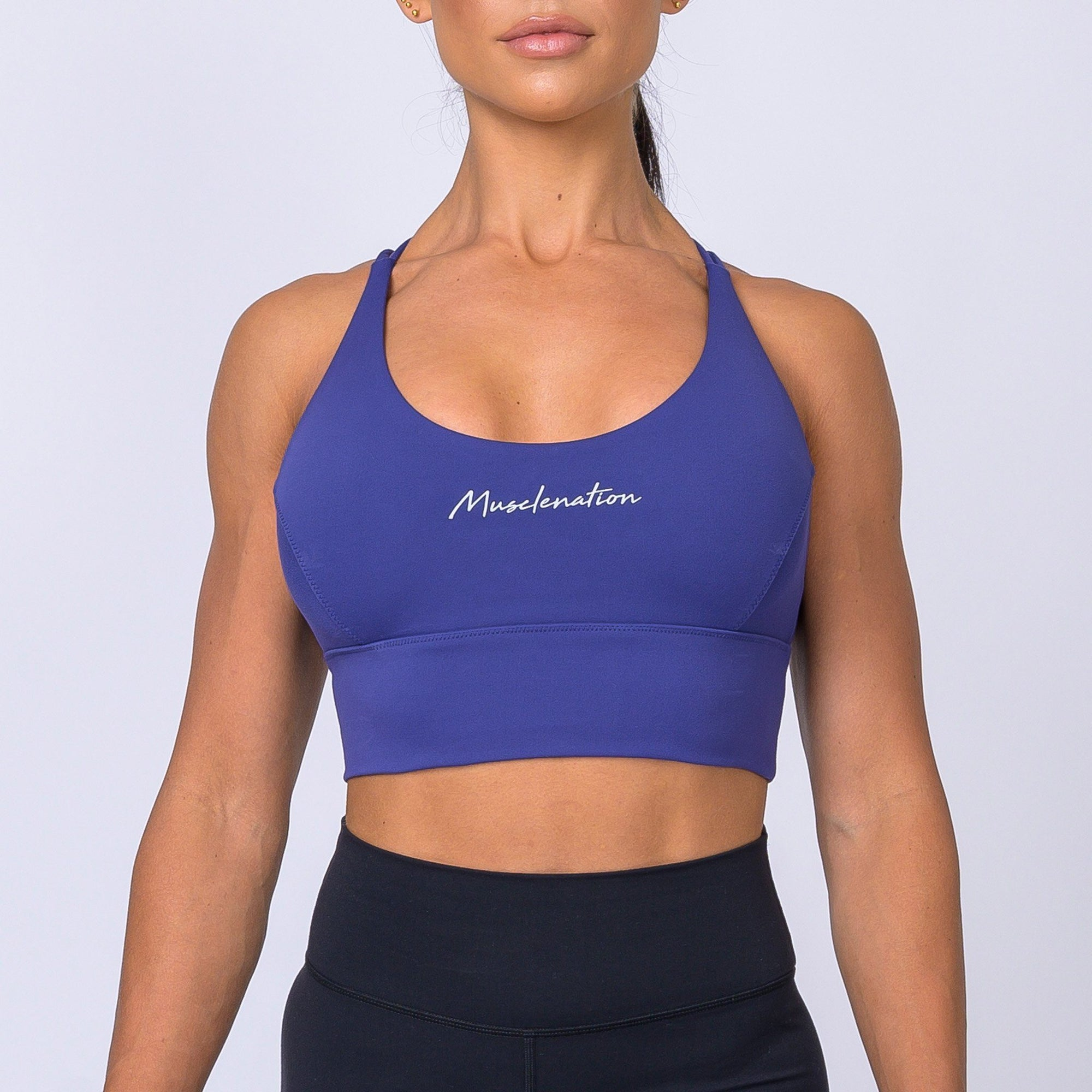 Muscle Nation Butter Motion Sports Bra – Indigo