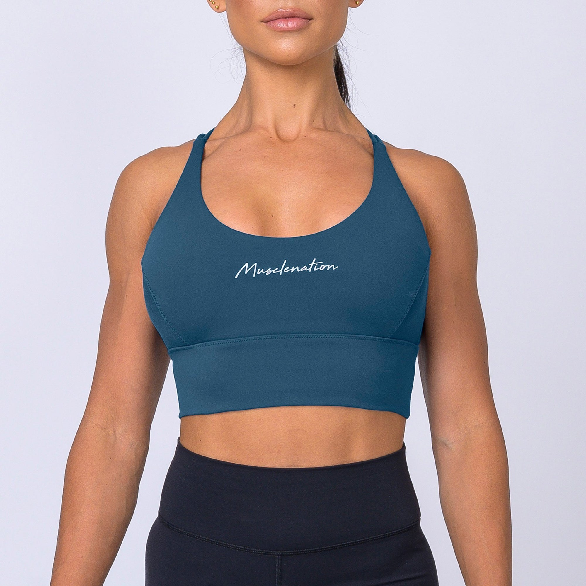 Muscle Nation Butter Motion Sports Bra – Marine