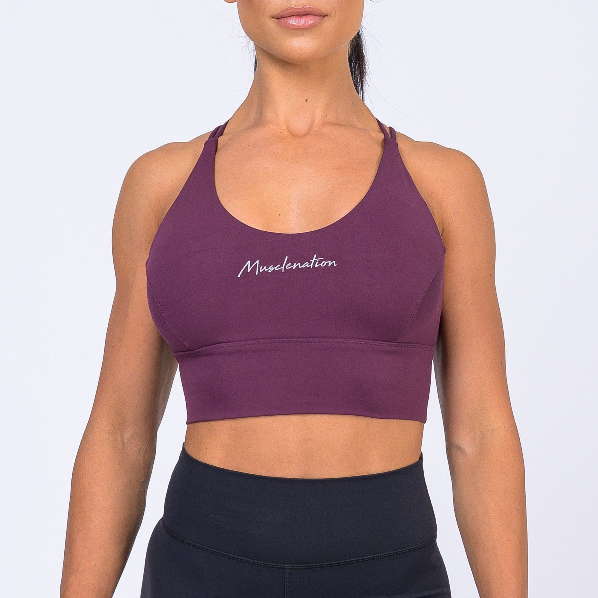 Muscle Nation Butter Motion Sports Bra – Mauve