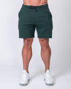 Muscle Nation Casual Fit Shorts - Emerald Green