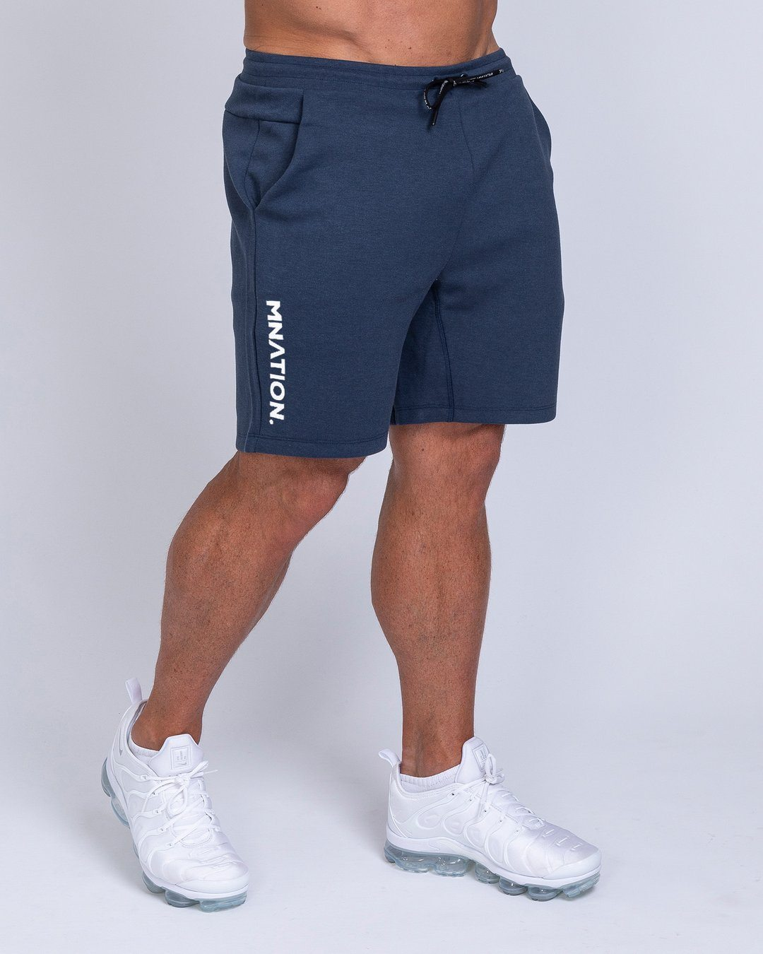 Muscle Nation Casual Fit Shorts - Navy