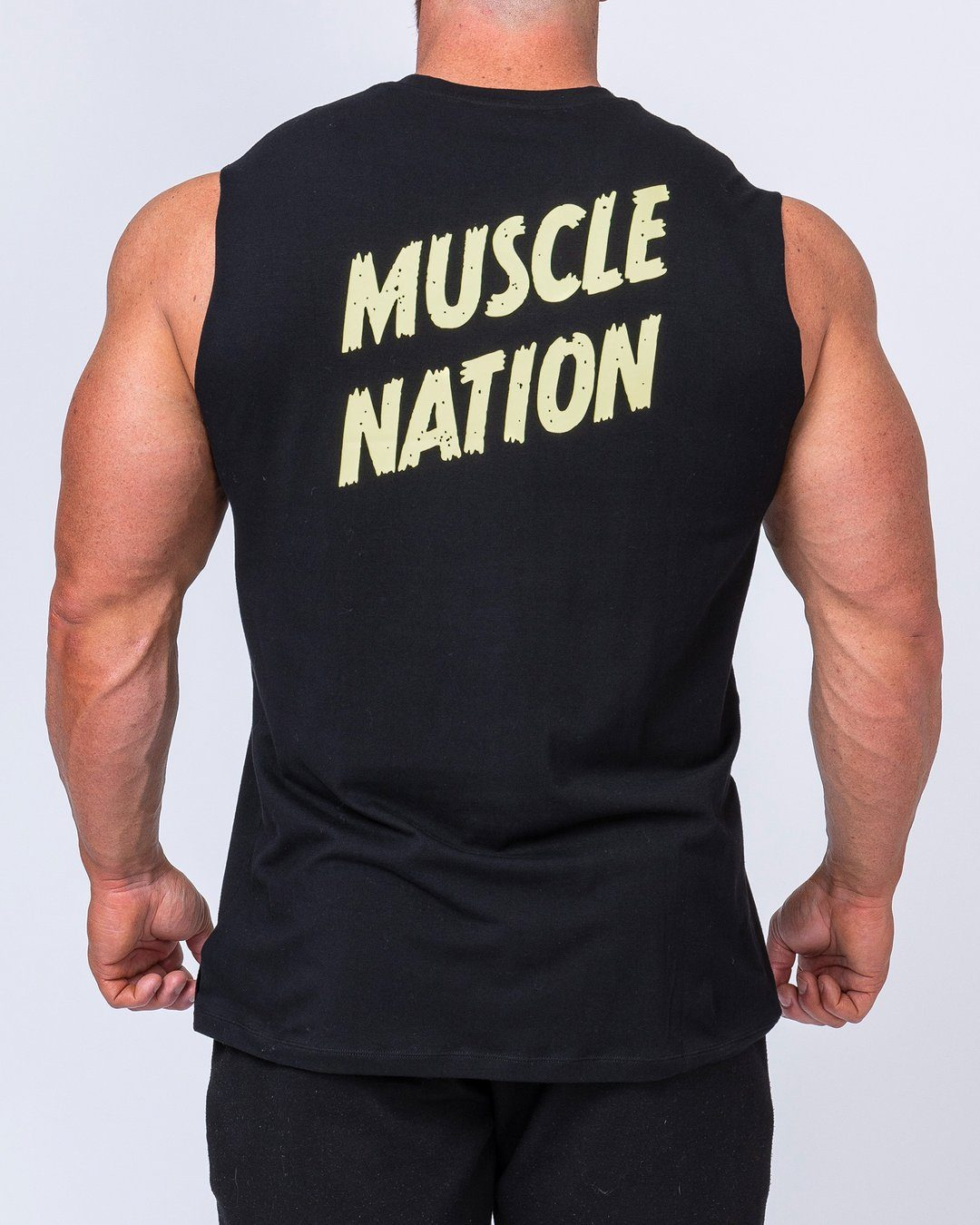 Muscle Nation Classic Muscle Tank - Black