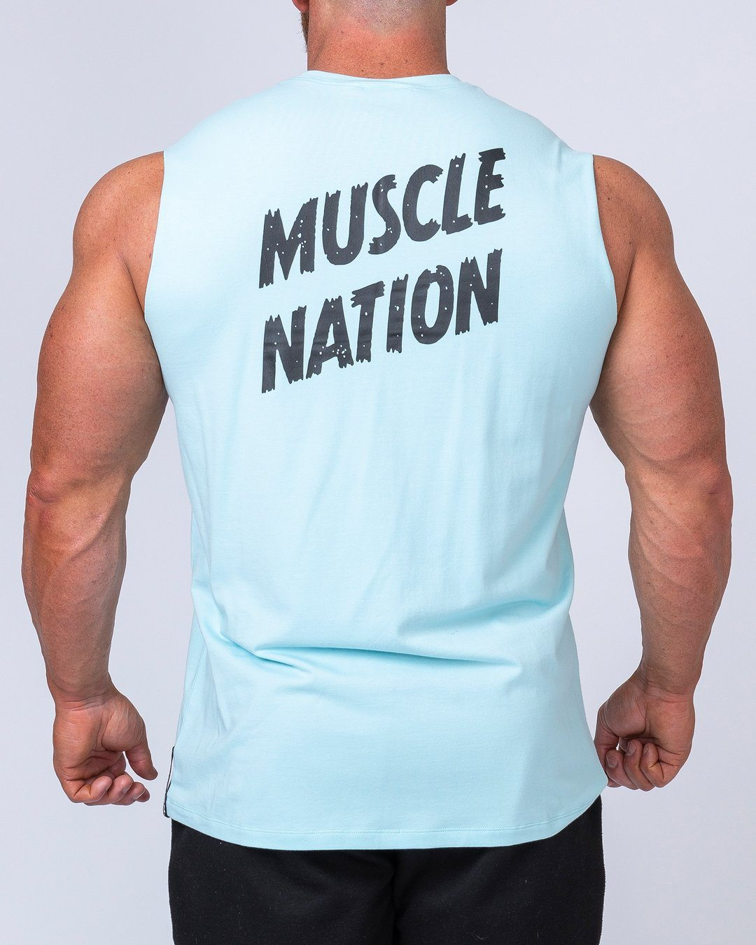 Muscle Nation Classic Muscle Tank - Sky Blue