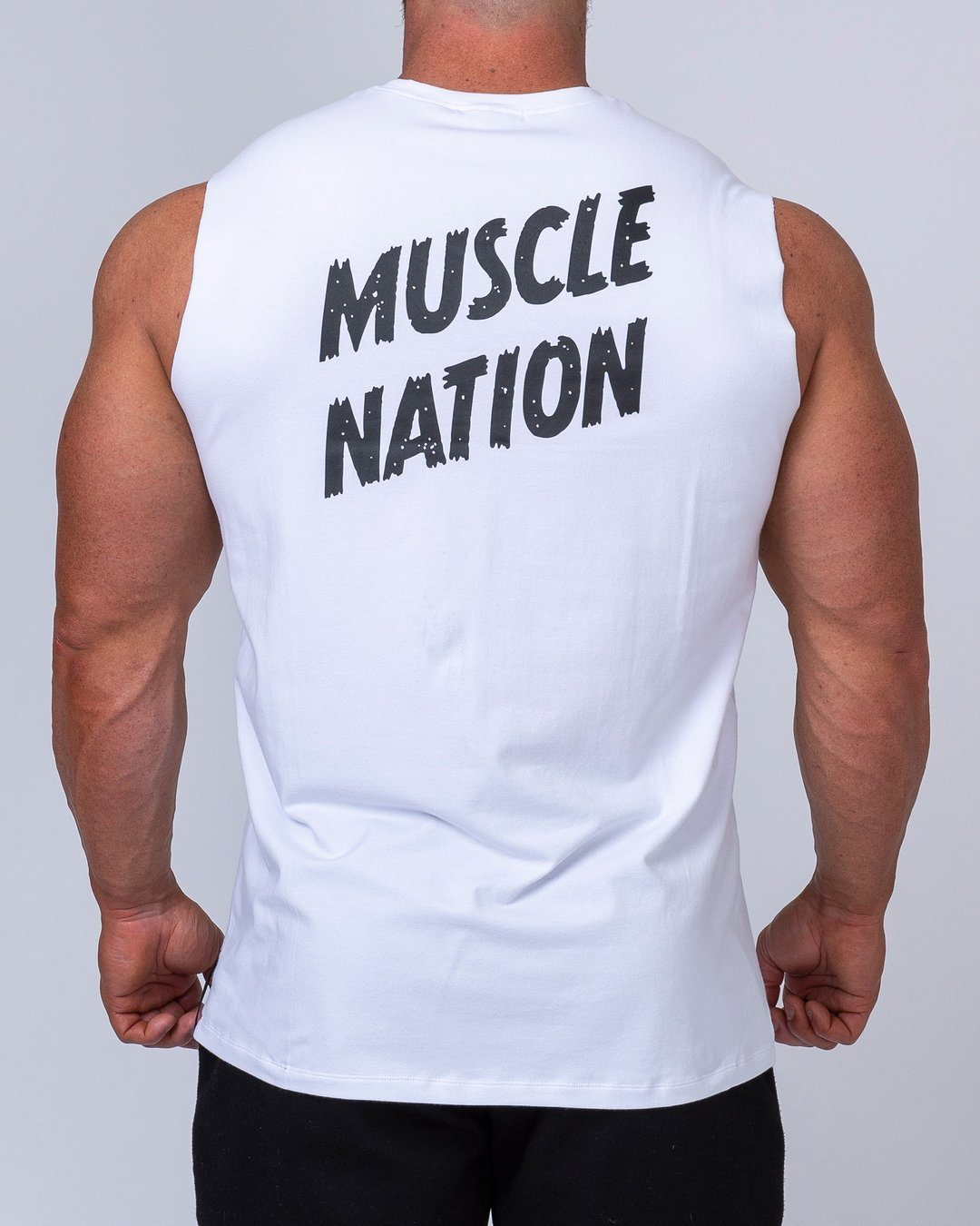 Muscle Nation Classic Muscle Tank - White