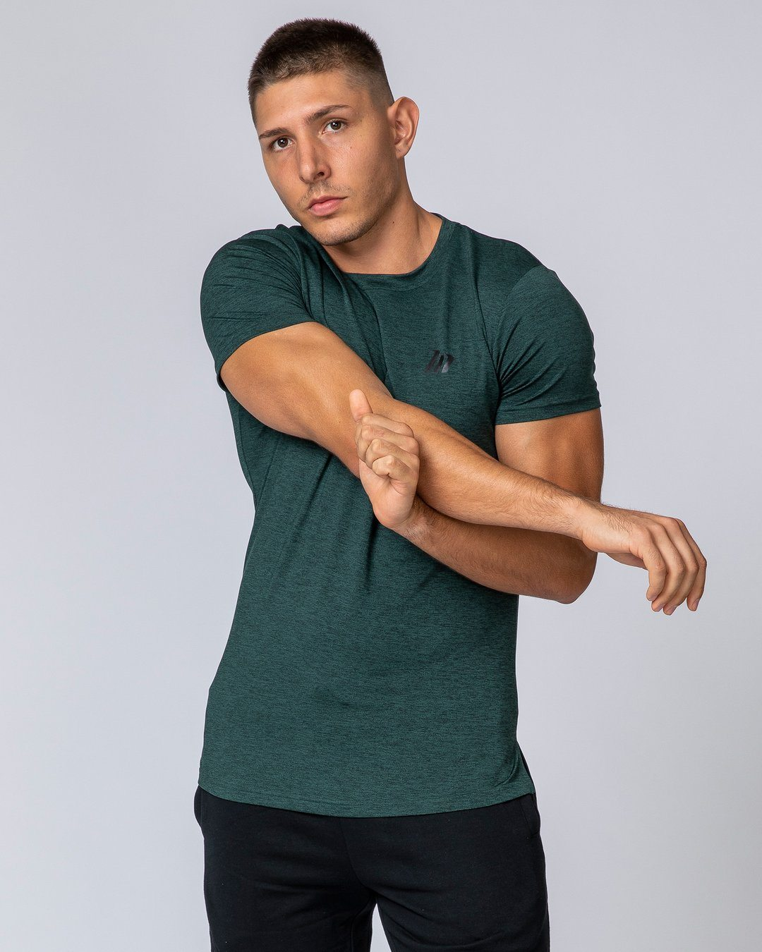 Muscle Nation ClimaFlex T-Shirt - Forest Green