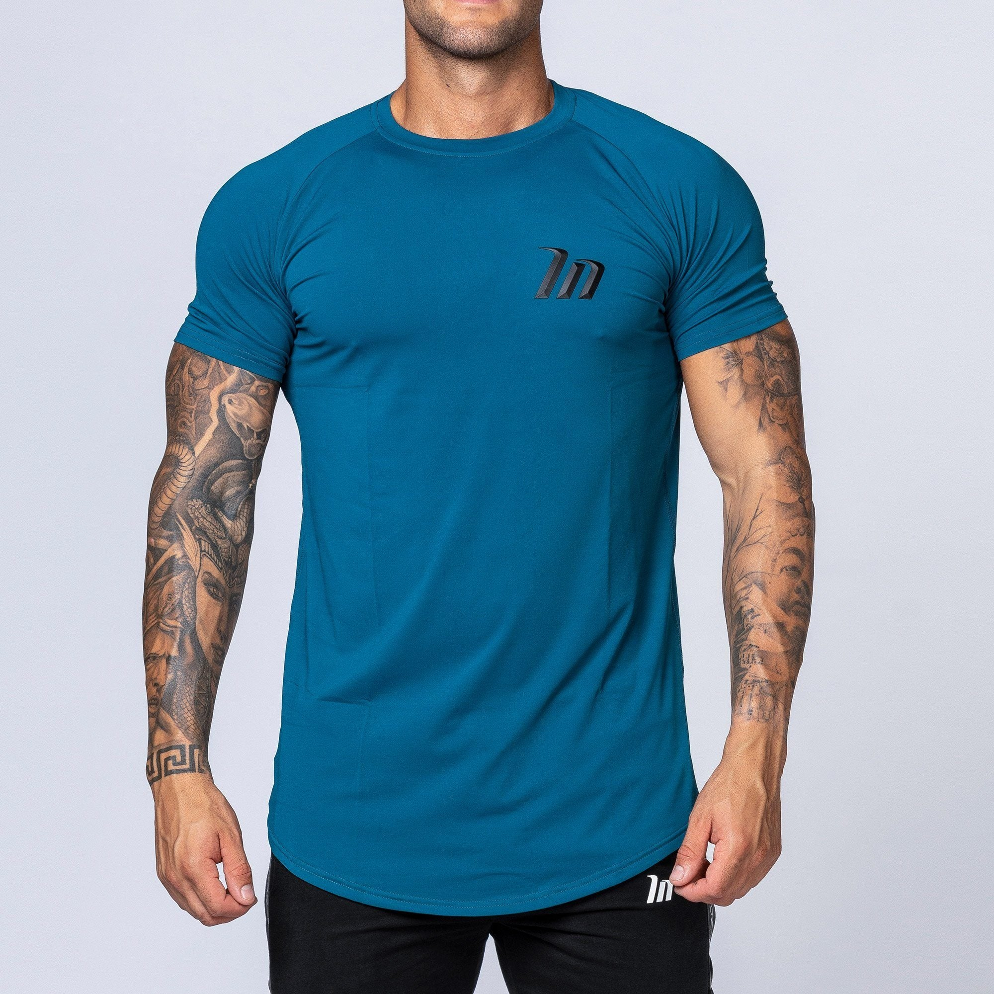 Muscle Nation ClimaFlex T-Shirt - Teal Blue