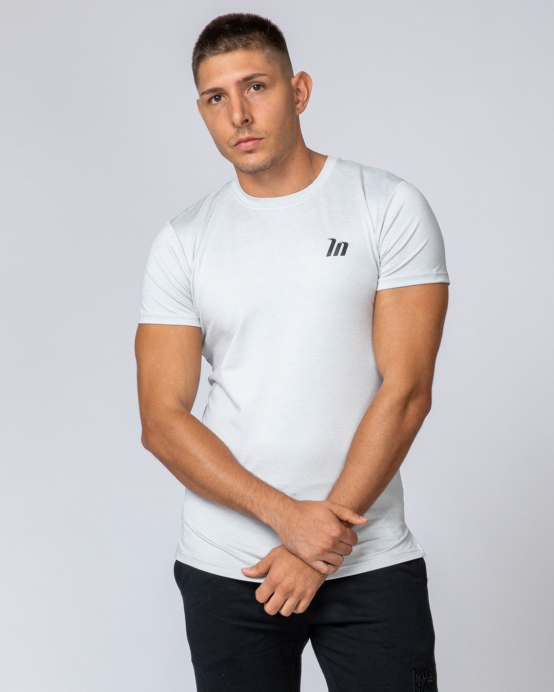 Muscle Nation ClimaFlex T-Shirt - White Marl