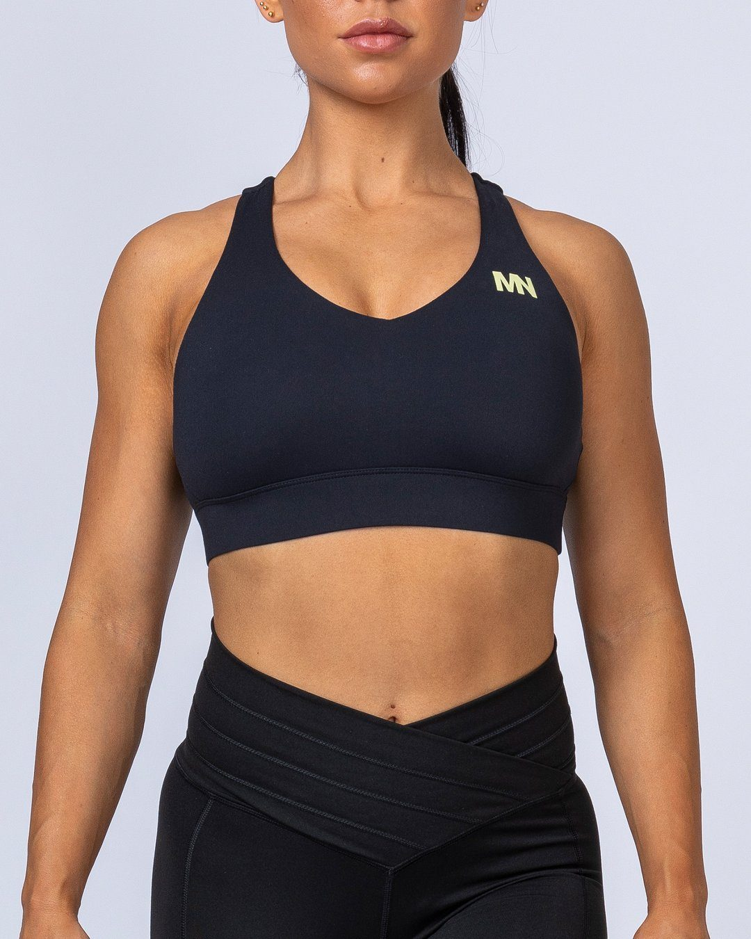 Muscle Nation Comfort Bra - Black