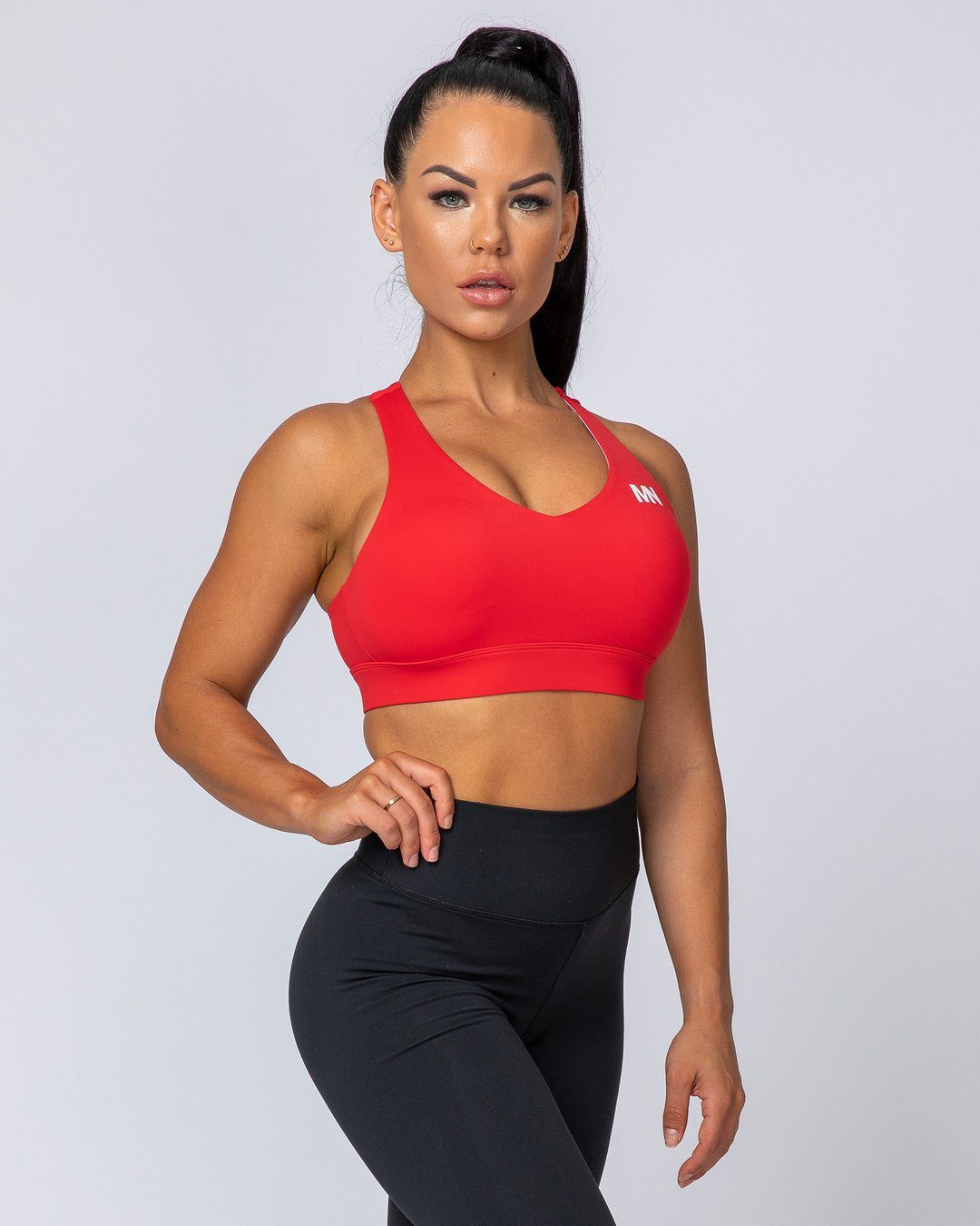 Muscle Nation Comfort Bra - Flame
