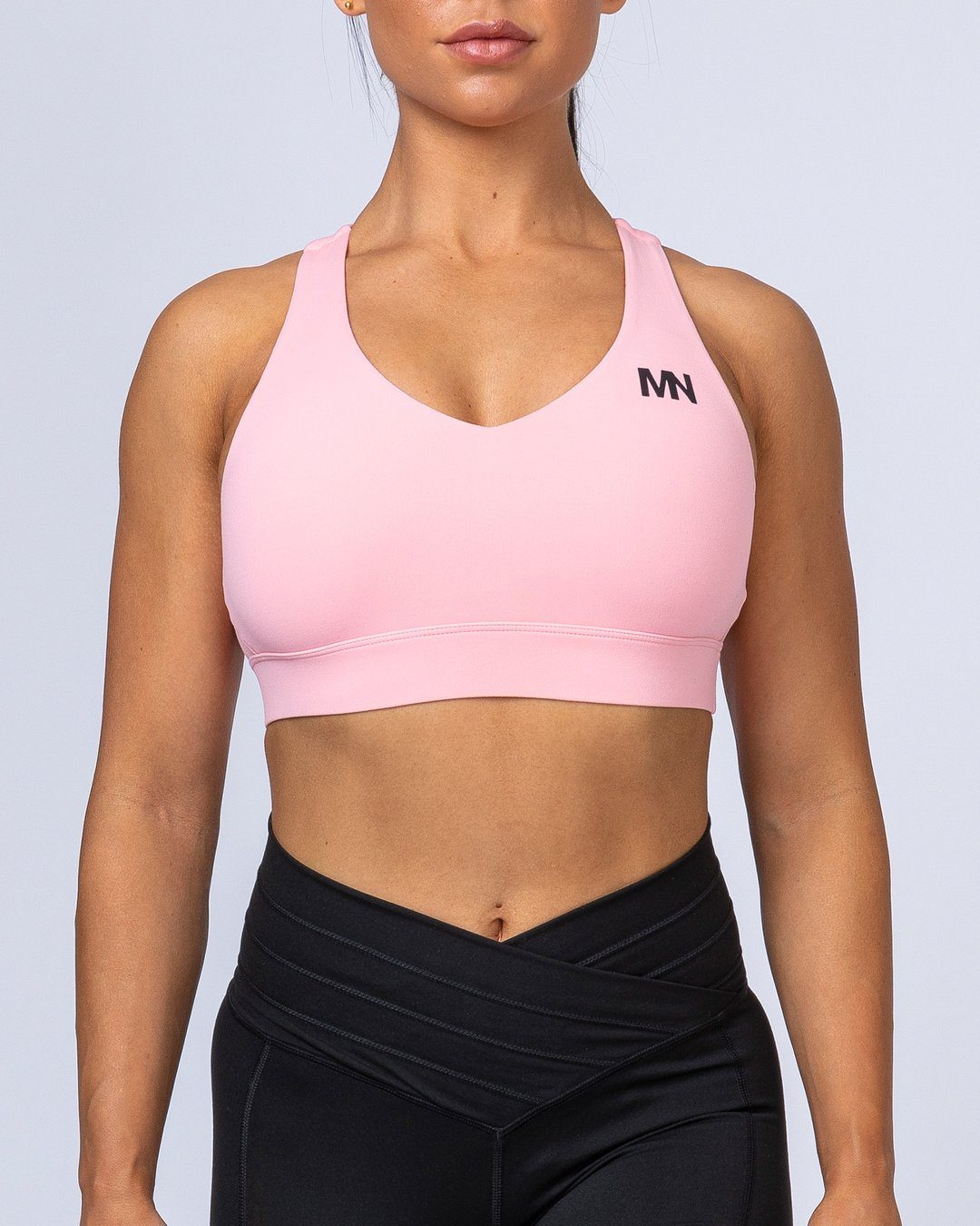Muscle Nation Comfort Bra - Pink Sherbet