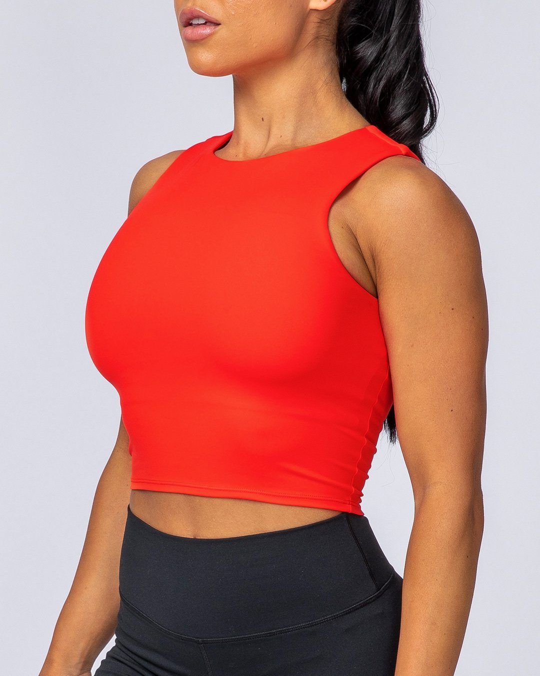 Muscle Nation Comfort Cropped Tank - Infrared