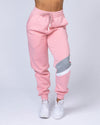 Muscle Nation Comfy Tracksuit Pants - Pink