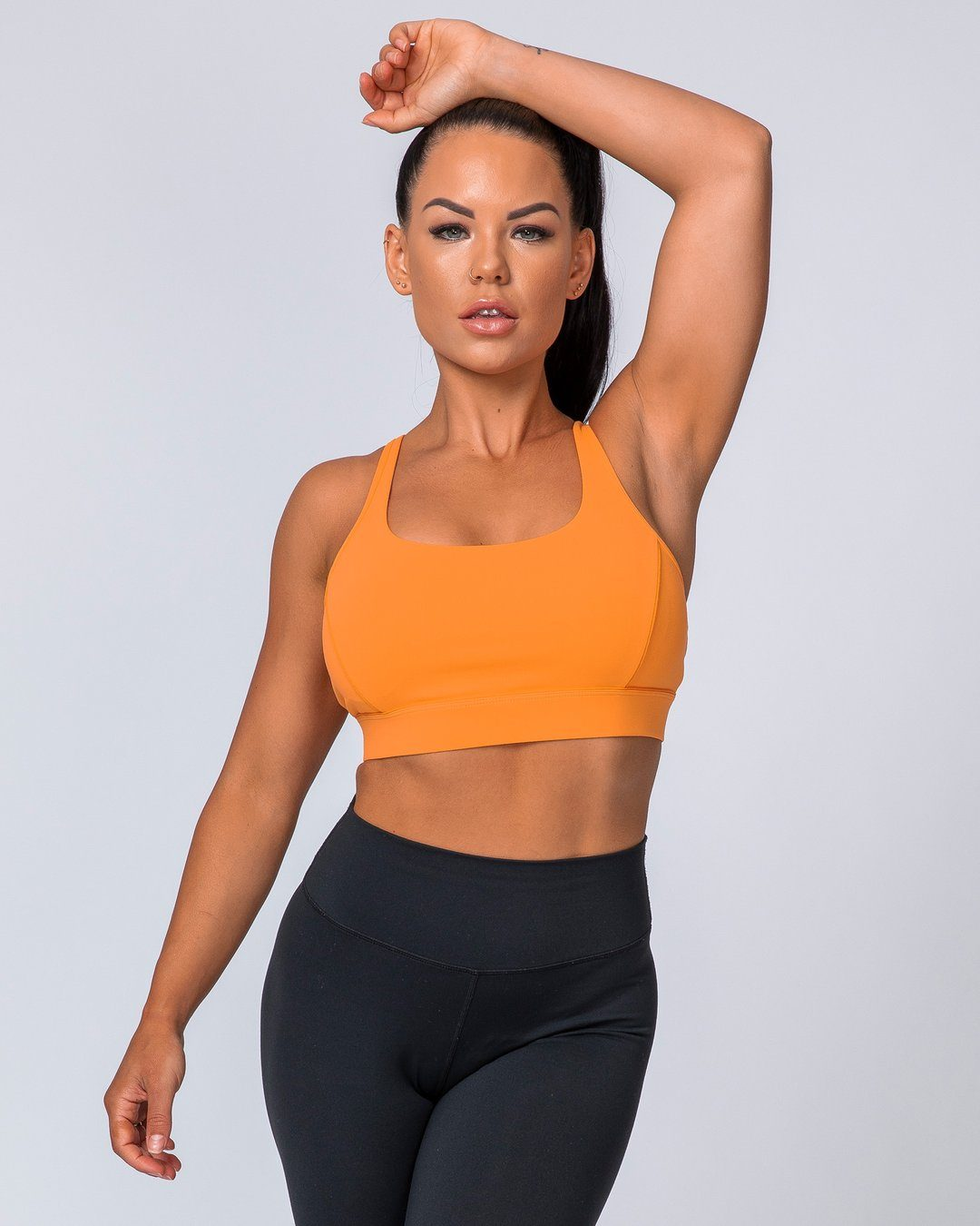 Muscle Nation Hiit Bra – Tangerine