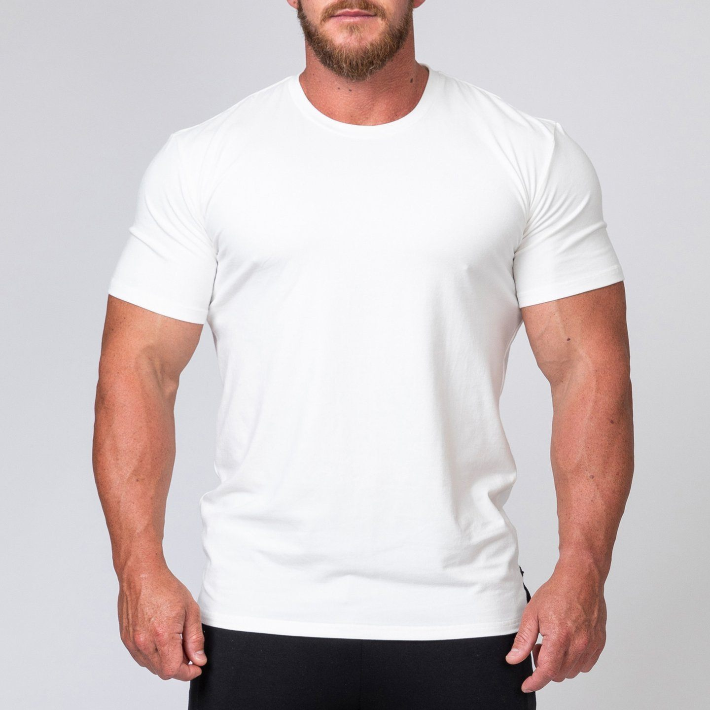 Muscle Nation Minimal Tee - White
