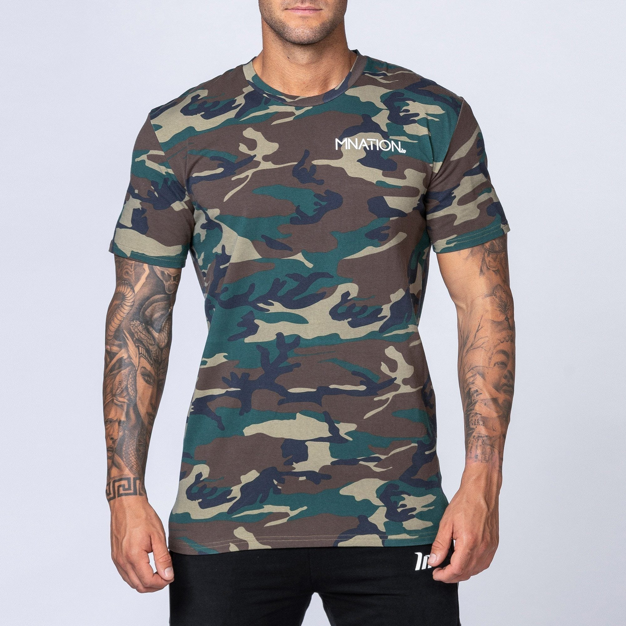 Muscle Nation MNation Tee - Camo