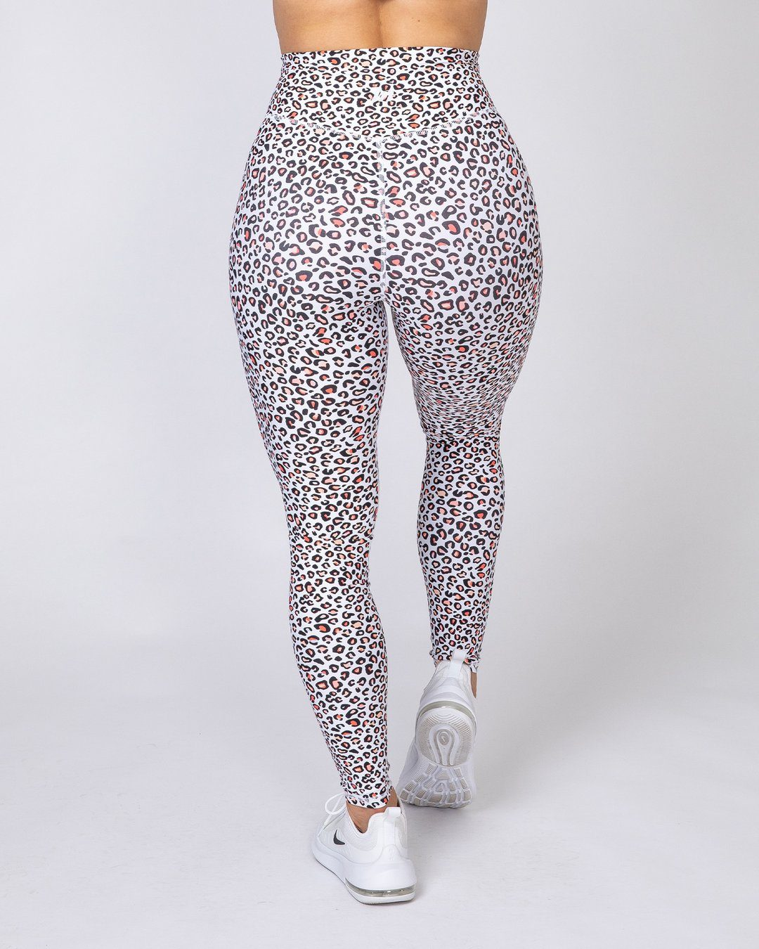 Muscle Nation Motion Full Length Leggings - Micro Leopard