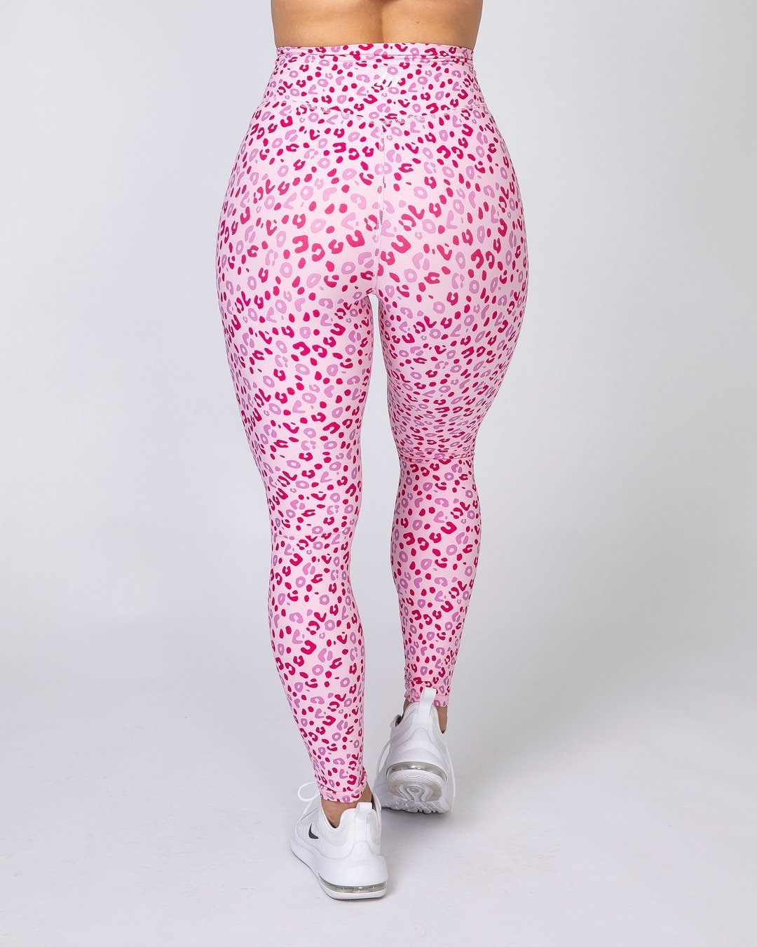 Muscle Nation Motion Full Length Leggings - Pink Leopard