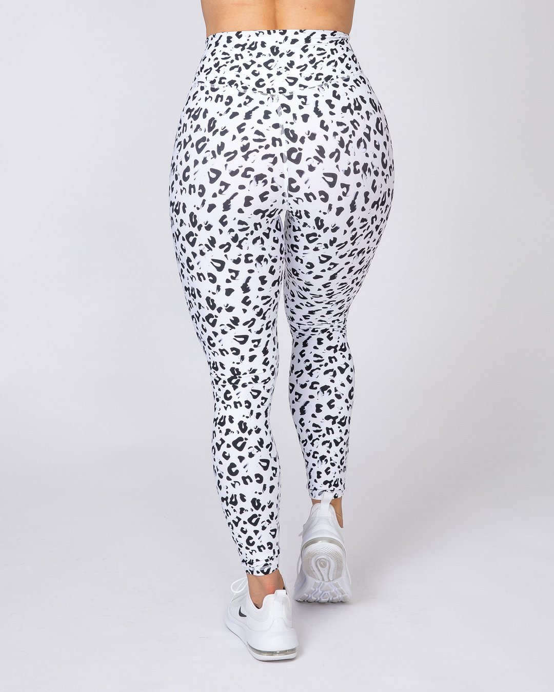 Muscle Nation Motion Full Length Leggings - Snow Leopard