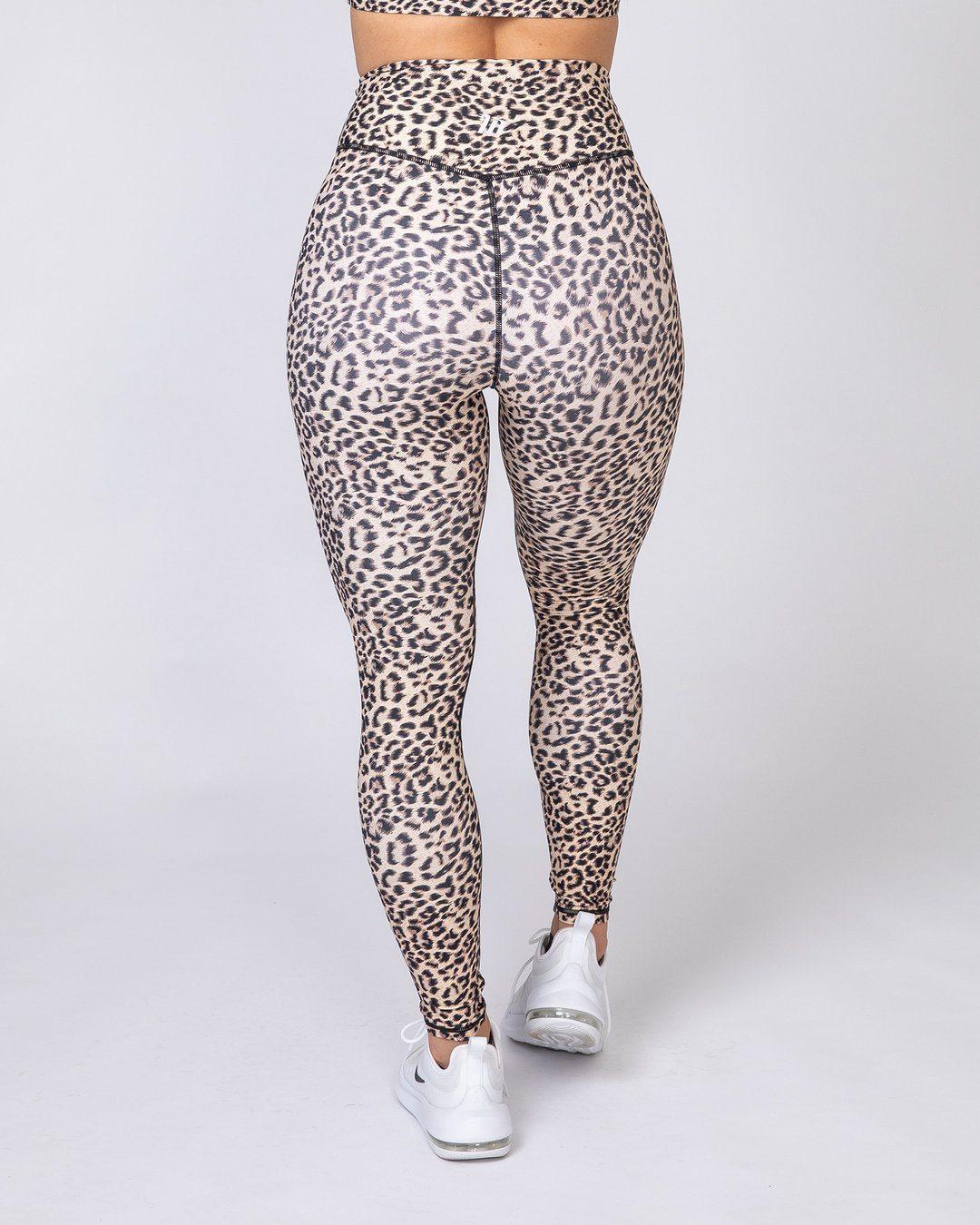 Muscle Nation Motion Full Length Leggings - Yellow Leopard
