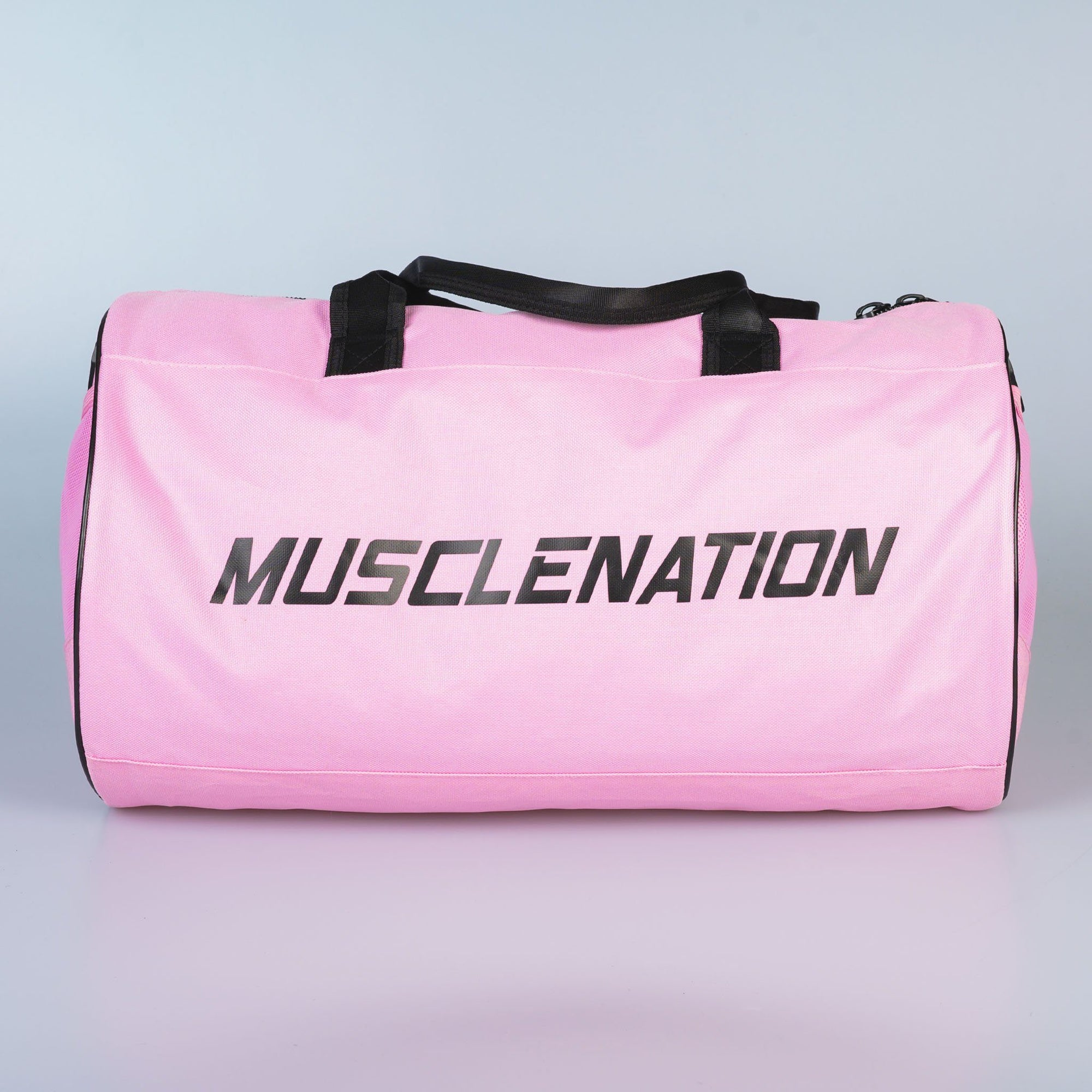 Muscle Nation Round Premium Gym Bag - Pink