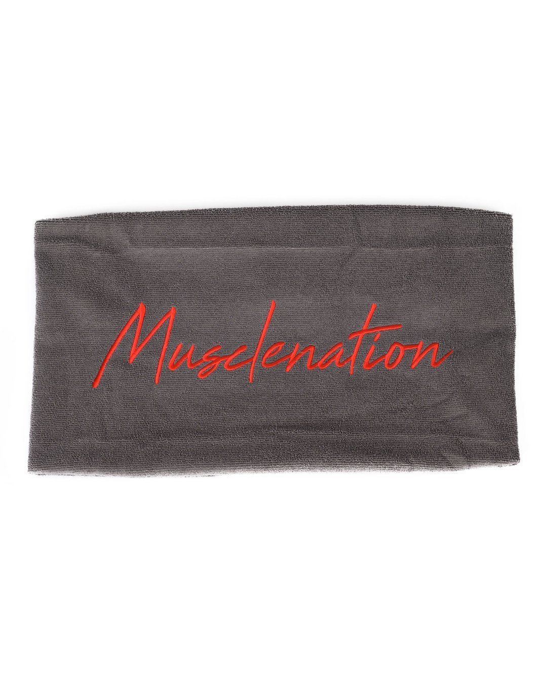 Muscle Nation Signature Gym Towel - Grey