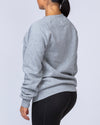 Muscle Nation Slouchy Jumper - Grey