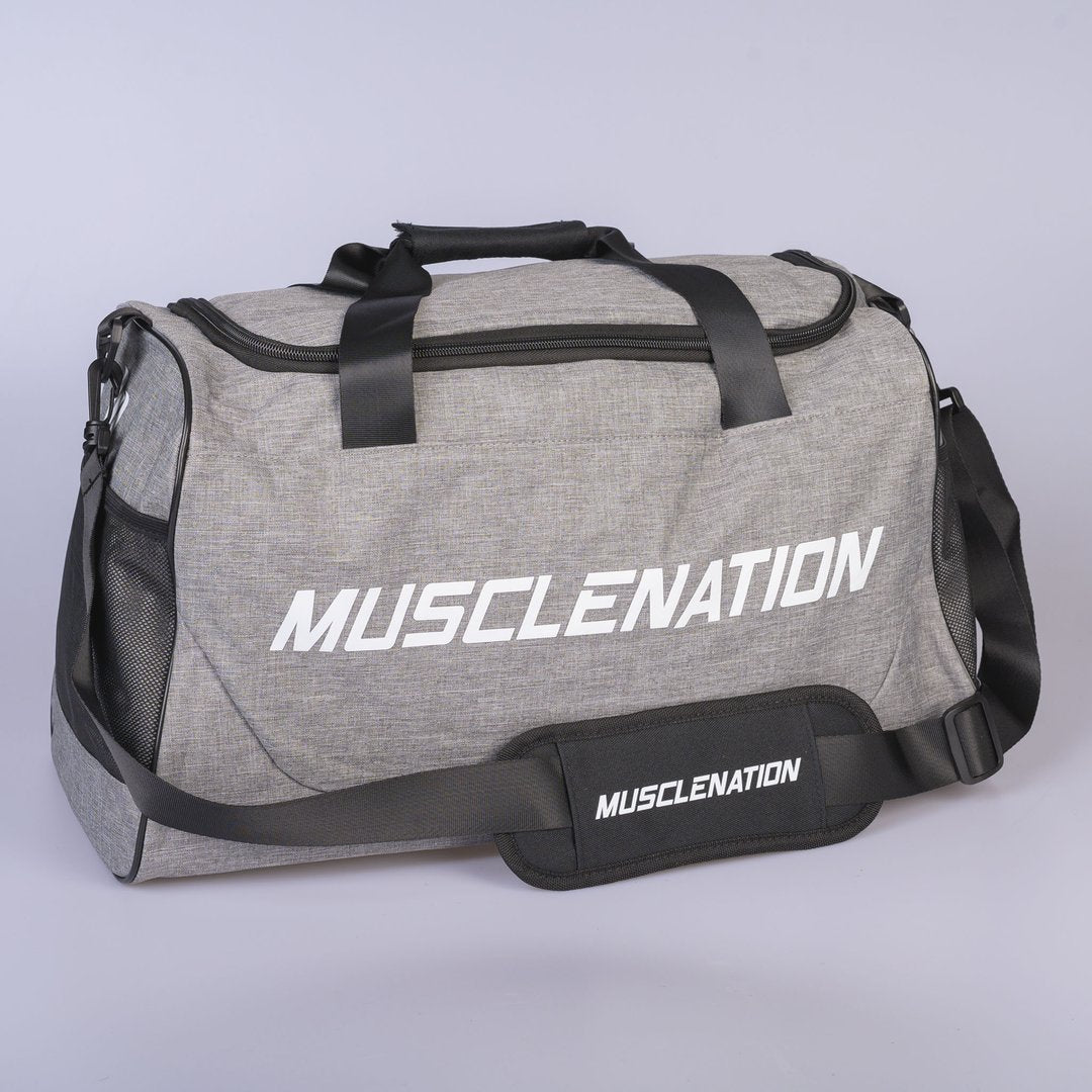Muscle Nation Square Training Duffle Bag - Grey