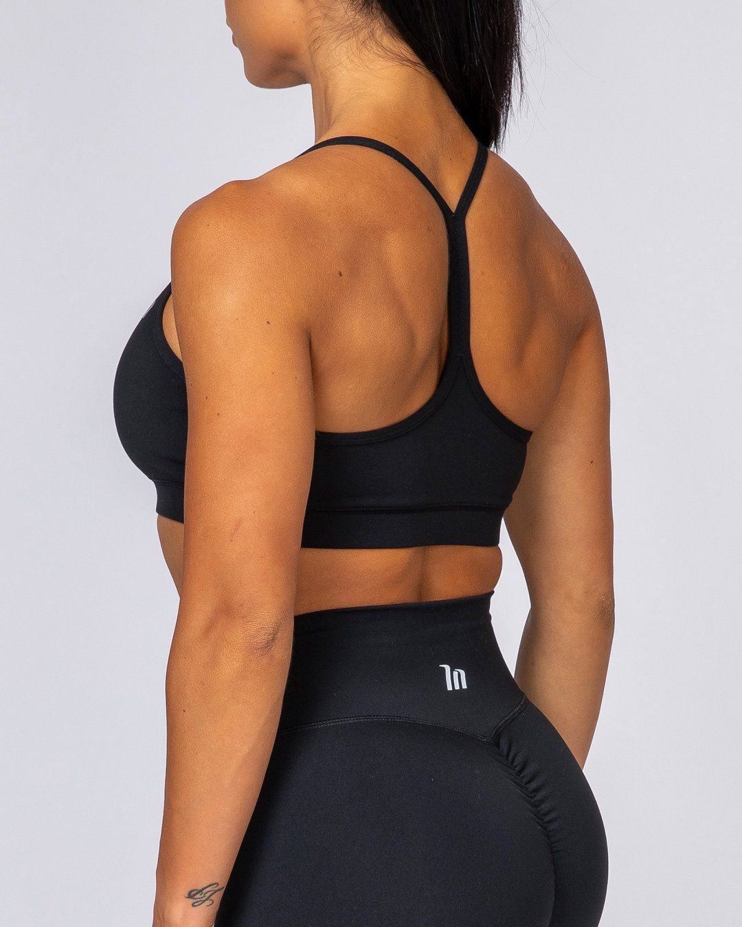 Muscle Nation Tone Bra - Black