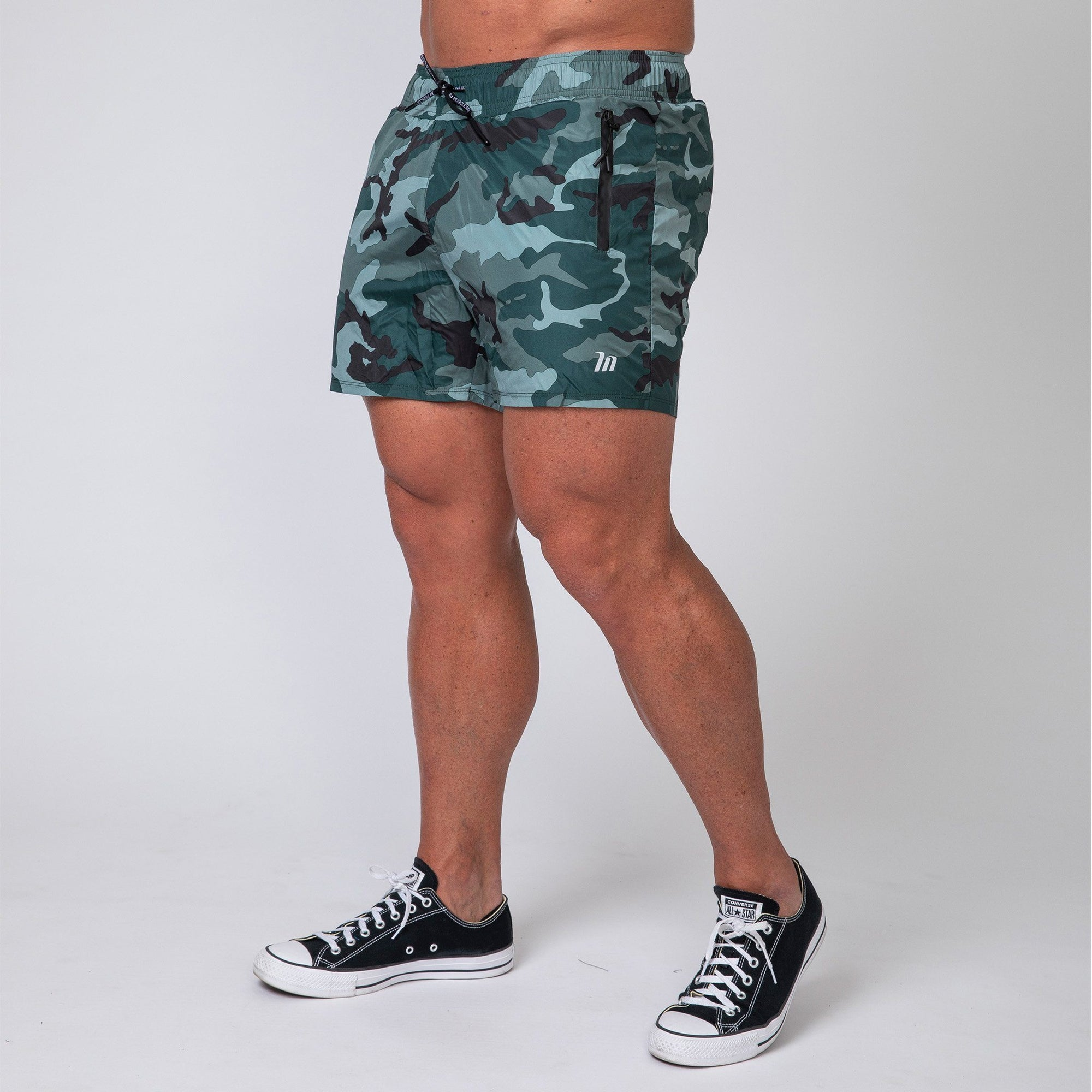 Muscle Nation Training Shorts - Camo