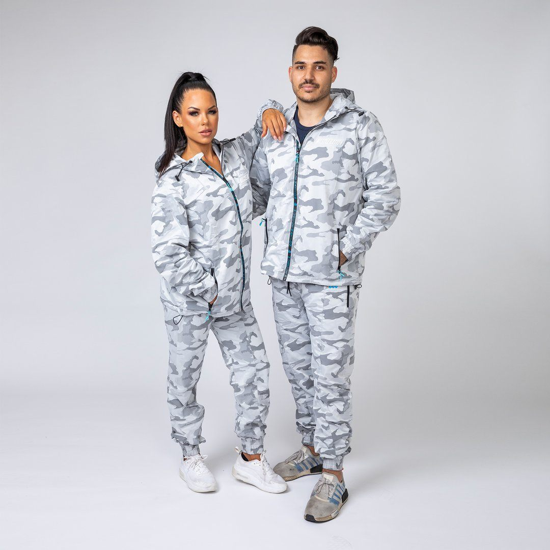 Muscle Nation Unisex Tracksuit Set - Snow Camo