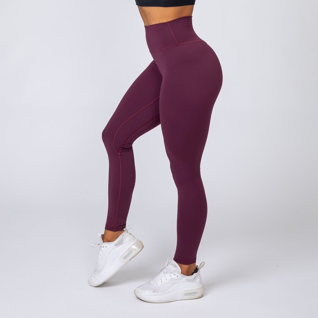 Muscle Nation v2 Butter Full Length High Waist Leggings - Mauve