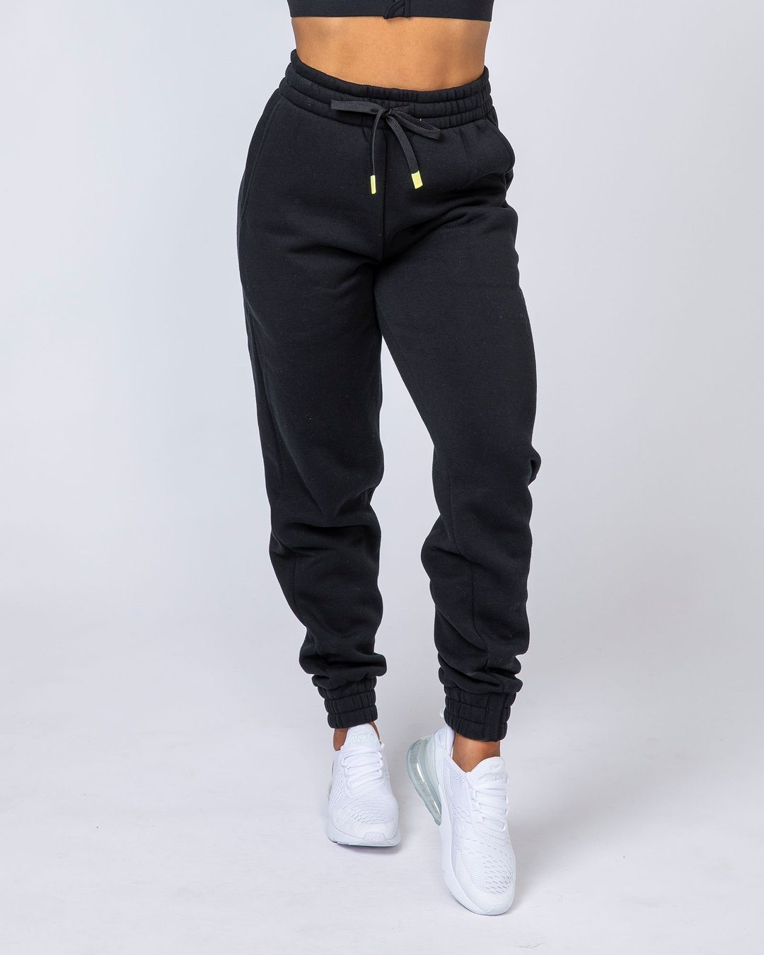 Muscle Nation Warm-Up Trackies - Black
