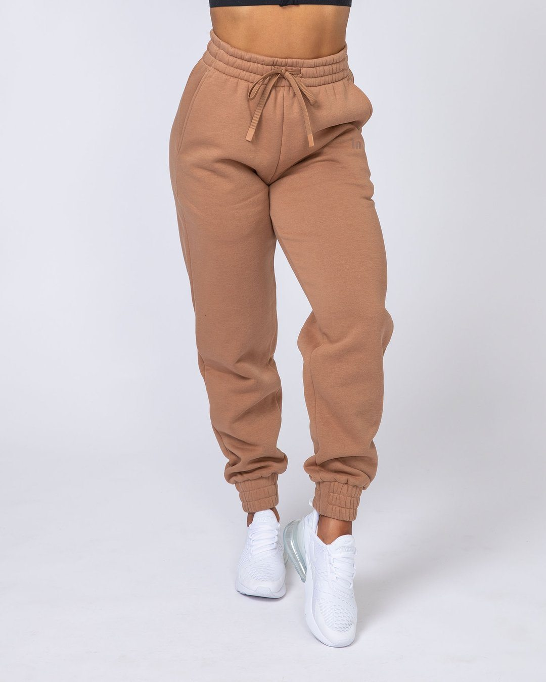 Muscle Nation Warm-Up Trackies - Latte