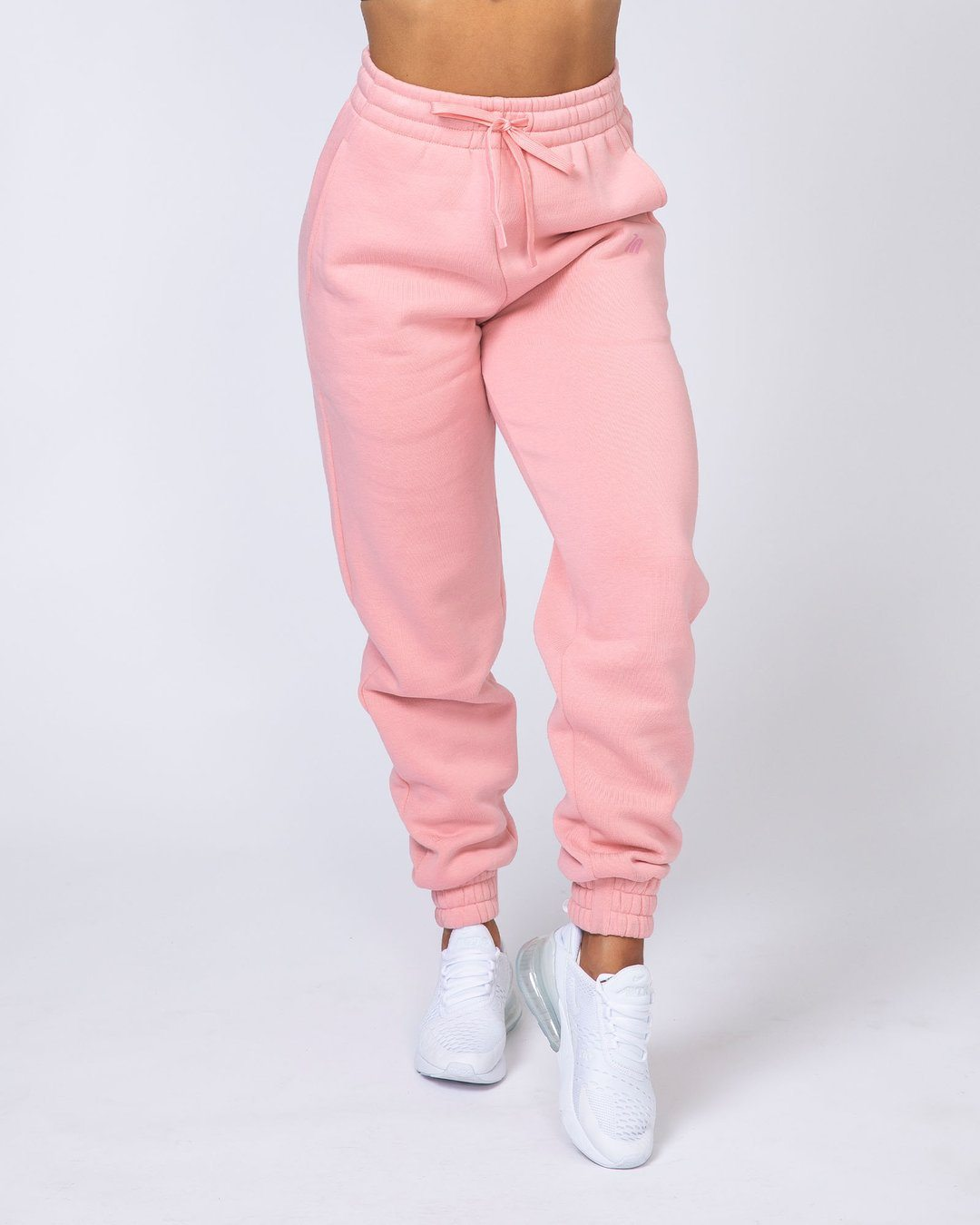Muscle Nation Warm-Up Trackies - Pink