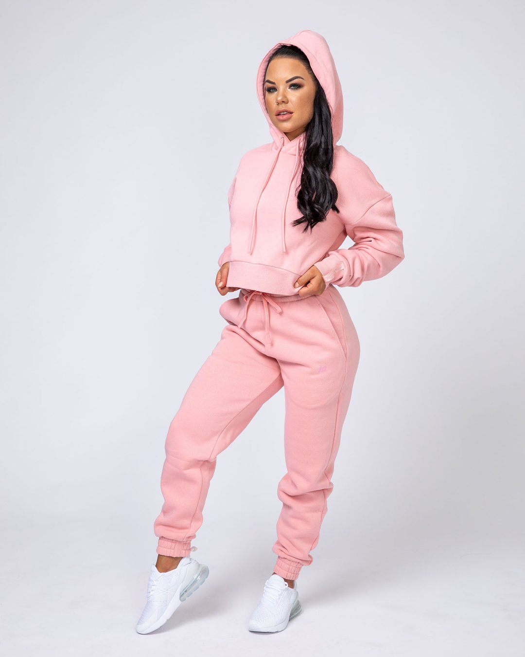 Muscle Nation Warm-Up Tracksuit Set - Pink