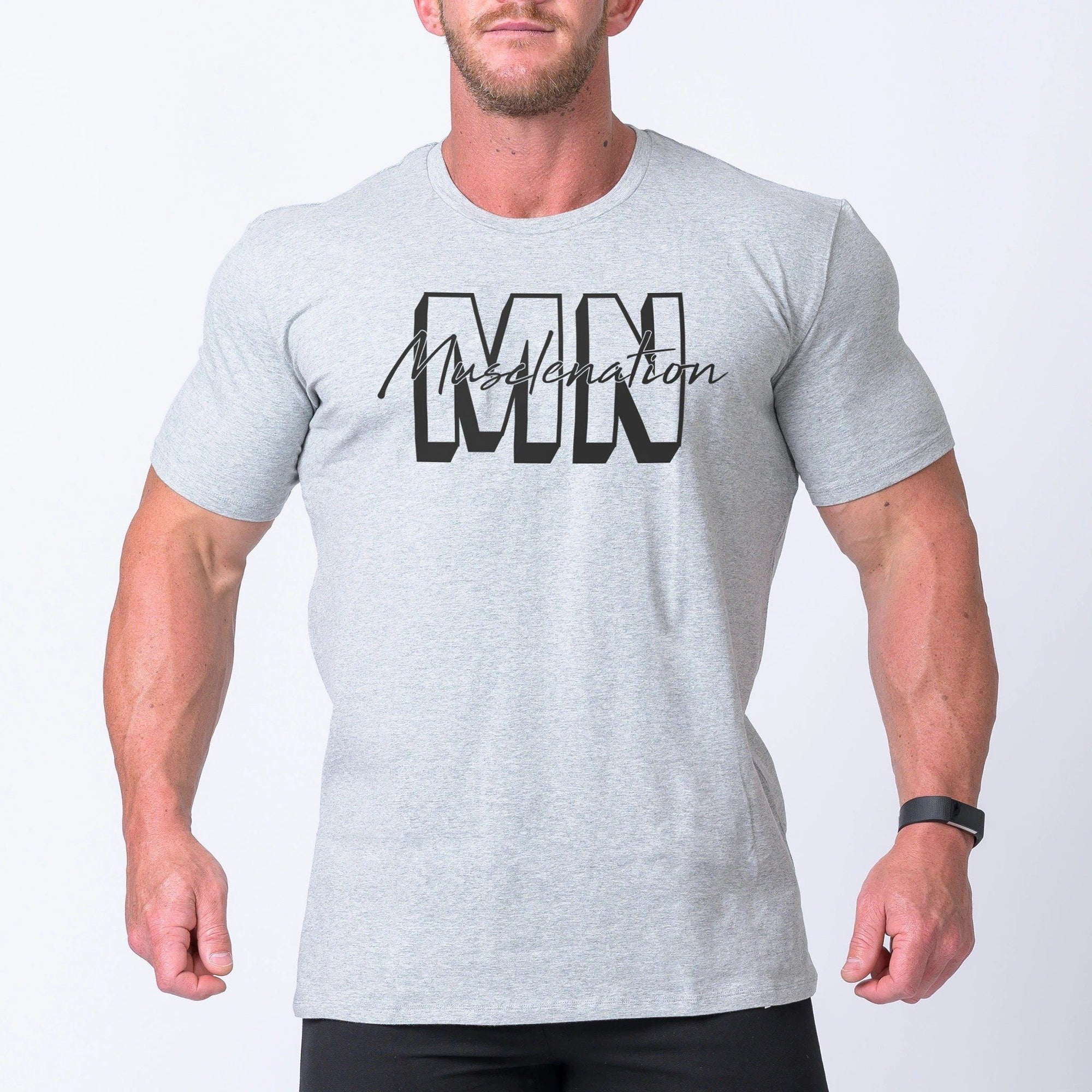 Muscle NationCasual MNxSignature Tee - Grey