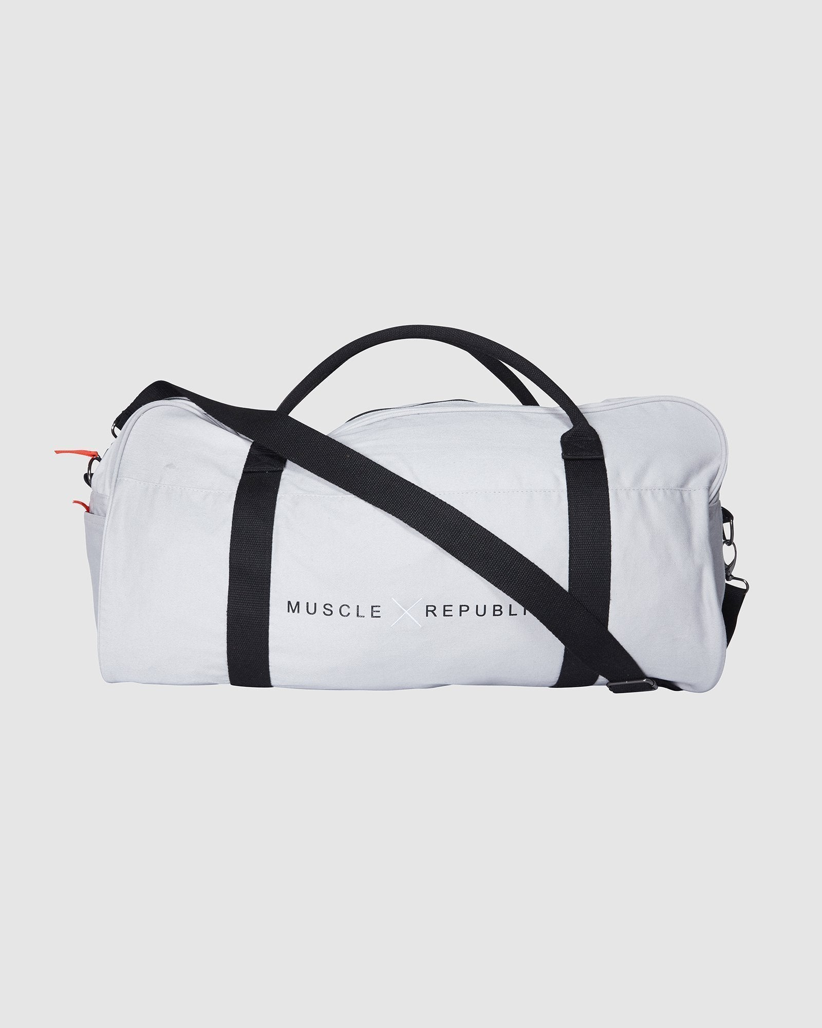 Muscle Republic Duffel Bag - Light Grey