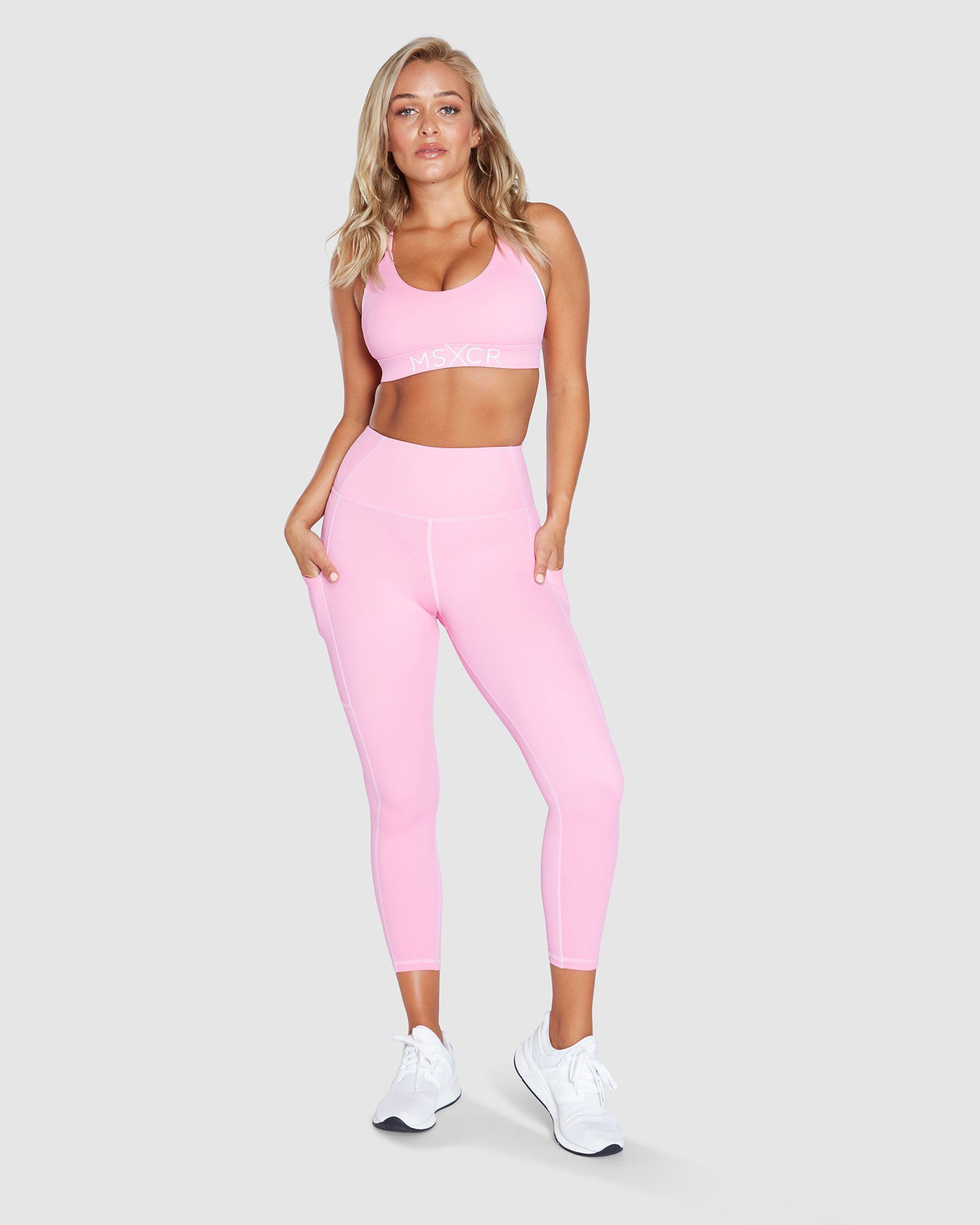 Muscle Republic Elevate 7/8 Leggings - Pink