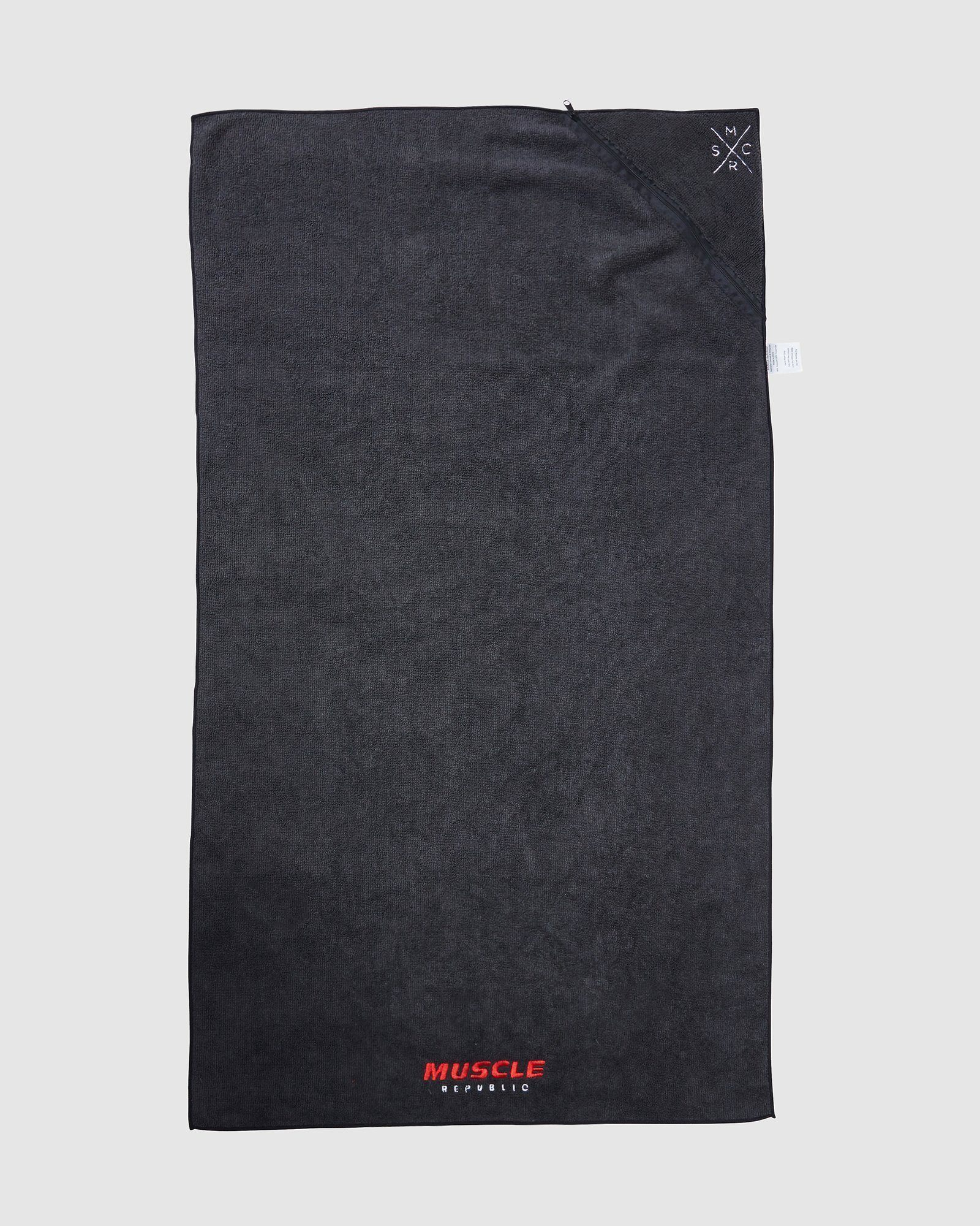 Muscle Republic Gym Towel - Black
